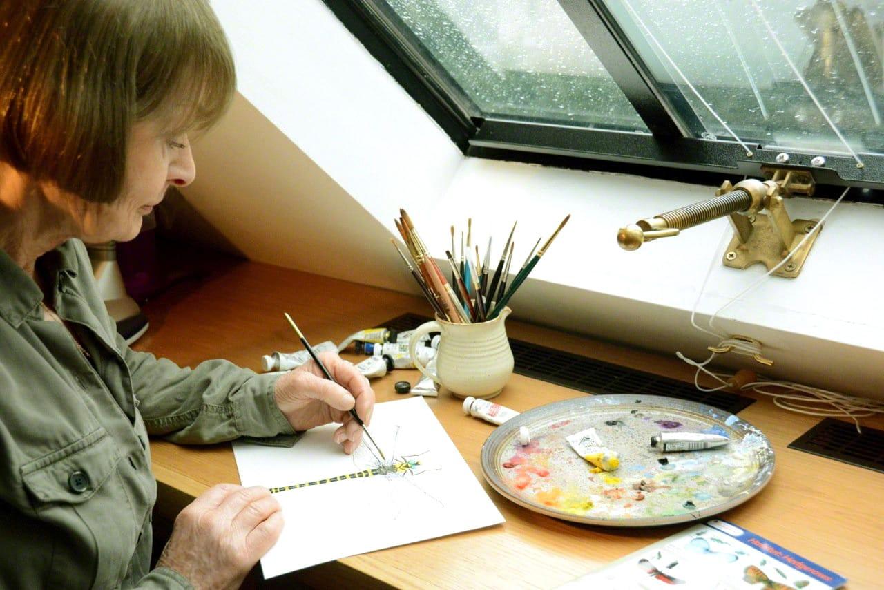 New site launch for artist, Lyn Merrick